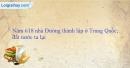Bài tập 1 trang 55 vở bài tập lịch sử 6