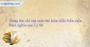 Bài tập 2 trang 51 vở bài tập lịch sử 6
