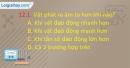 Câu 12.1, 12.2, 12.3 phần bài tập trong SBT – Trang 37 Vở bài tập Vật lí 7