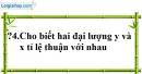Trả lời câu hỏi 4 Bài 1 trang 53 SGK Toán 7 Tập 1