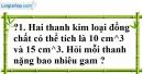 Trả lời câu hỏi 1 Bài 2 trang 55 SGK Toán 7 Tập 1