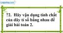 Trả lời câu hỏi 2 Bài 2 trang 55 SGK Toán 7 Tập 1