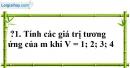 Trả lời câu hỏi 1 Bài 5 trang 63 SGK Toán 7 Tập 1