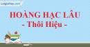 Lầu Hoàng Hạc - Thôi Hiệu