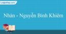 Nhàn - Nguyễn Bỉnh Khiêm