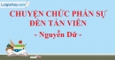 Chuyện chức Phán  sự đền Tản Viên - Nguyễn Dữ