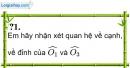 Trả lời câu hỏi 1 Bài 1 trang 81 SGK Toán 7 Tập 1