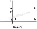 Trả lời câu hỏi 1 Bài 6 trang 96 SGK Toán 7 Tập 1