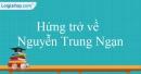 Hứng trở về - Nguyễn Trung Ngạn