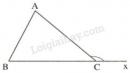 Trả lời câu hỏi 4 Bài 1 trang 107 SGK Toán 7 Tập 1