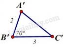 Trả lời câu hỏi 1 Bài 4 trang 117 SGK Toán 7 Tập 1
