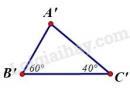 Trả lời câu hỏi 1 Bài 5 trang 121 SGK Toán 7 Tập 1