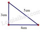 Trả lời câu hỏi 1 Bài 7 trang 129 SGK Toán 7 Tập 1