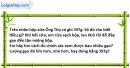 Bài 5.2 trang 17 SBT Vật lí 6