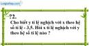 Trả lời câu hỏi 2 Bài 3 trang 57 SGK Toán 7 Tập 1