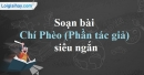 Soạn Chí Phèo (Phần tác giả) - Nam Cao siêu ngắn