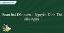 Soạn Đọc thêm Đất nước - Nguyễn Đình Thi siêu ngắn