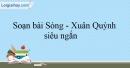Soạn Sóng - Xuân Quỳnh siêu ngắn