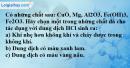 Câu 2 phần bài tập học theo SGK – Trang 14 Vở bài tập hoá 9