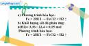 Câu 6 phần bài tập học theo SGK – Trang 19 Vở bài tập hoá 9