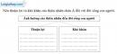 Bài 4 trang 10 vở bài tập Địa lí 8
