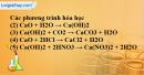 Câu 1 phần bài tập học theo SGK – Trang 28 Vở bài tập hoá 9