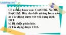 Câu 2 phần bài tập học theo SGK – Trang 23 Vở bài tập hoá 9