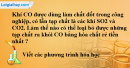 Câu 3 phần bài tập học theo SGK – Trang 21 Vở bài tập hoá 9