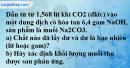 Câu 3 phần bài tập học theo SGK – Trang 26 Vở bài tập hoá 9