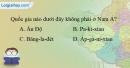 Bài 4 trang 22 vở bài tập Địa lí 8