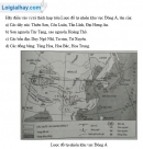 Bài 1 trang 25 vở bài tập Địa lí 8