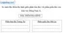 Bài 2 trang 30 vở bài tập Địa lí 8