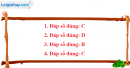 Câu 1, 2, 3, 4  phần bài tập bổ sung – Trang 22 Vở bài tập hoá 9
