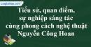 Tác giả Nguyễn Công Hoan