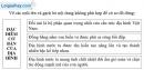 Bài 1 trang 54 vở bài tập Địa lí 8