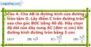 Phần câu hỏi bài 2 trang 90 Vở bài tập toán 9 tập 2