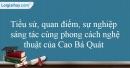Tác giả Cao Bá Quát