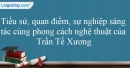 Tác giả Trần Tế Xương