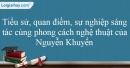 Tác giả Nguyễn Khuyến