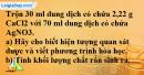 Câu 6* phần bài tập học theo SGK – Trang 31 Vở bài tập hoá 9