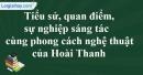 Tác giả Hoài Thanh