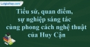 Tác giả Huy Cận