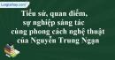 Tác giả Nguyễn Trung Ngạn