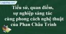Tác giả Phan Châu Trinh