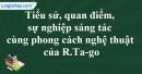 Tác giả R.Ta-go