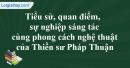 Tác giả Thiền sư Pháp Thuận