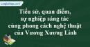 Tác giả Vương Xương Linh