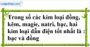 Câu 3 phần bài tập học theo SGK – Trang 44 Vở bài tập hoá 9