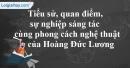 Tác giả Hoàng Đức Lương