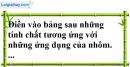 Câu 1 phần bài tập học theo SGK – Trang 52 Vở bài tập hoá 9